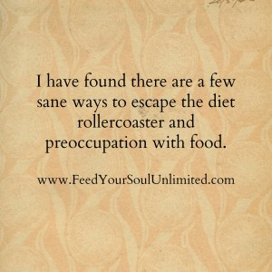 There are a few ways to escape the diet