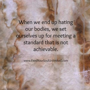 When we end up hating our bodies